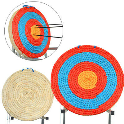 Archery Traditional Solid Straw Target Round Arrow Recurve Bow Shooting Practice