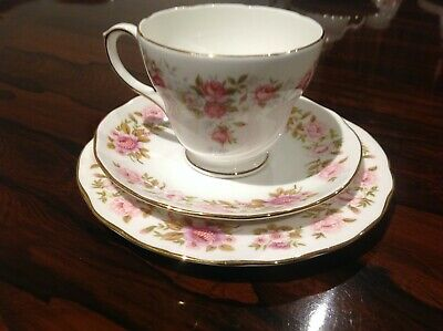 Duchess June Bouquet Cup Saucer And Plate