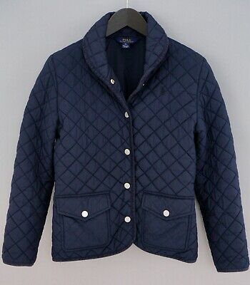 Girls Polo Ralph Lauren Jacket Quilted Casual Breathable XL 16 ZJA784