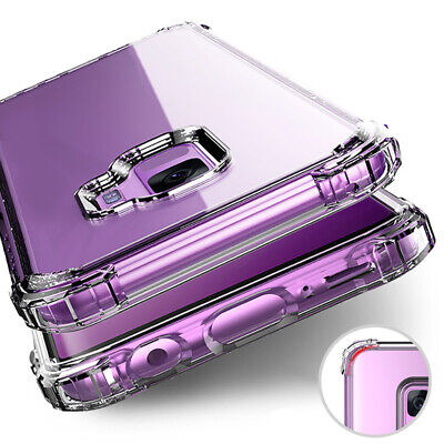 For Samsung Galaxy S20 Ultra Note 10 S8 S9 S10 Plus Clear Slim Shockproof Case