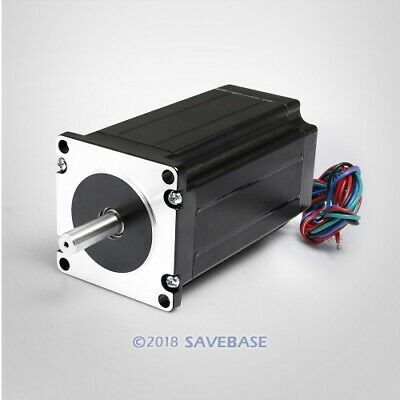 ENGMATE Nema 23 Stepper Motor 347Oz-In 2-Phase 3A for CNC Mill Router Cutter