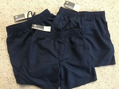 x3 Navy Boys school shorts - Size 6 - New with tags