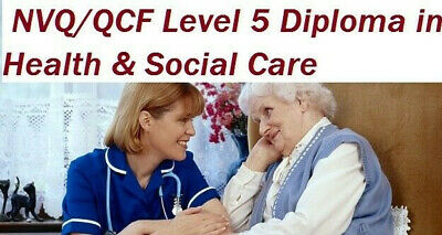 NVQ QCF Level 5 Diploma Health Social Care QUESTIONS & ANSWERS 26 UNITS by EMAIL