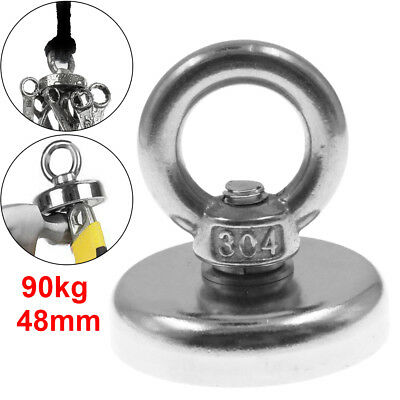 48mm Recovery Magnet VERY STRONG sea fishing diving treasure hunting upto 96kg