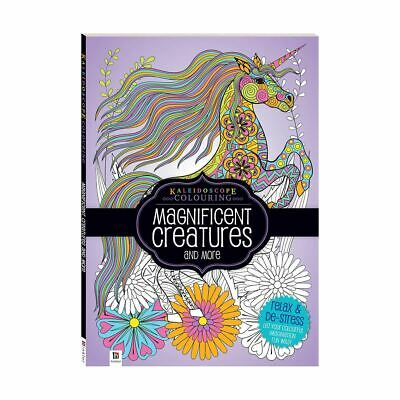 Hinkler: Kaleidoscope Colouring - Magnificent Creatures & More Colouring Book