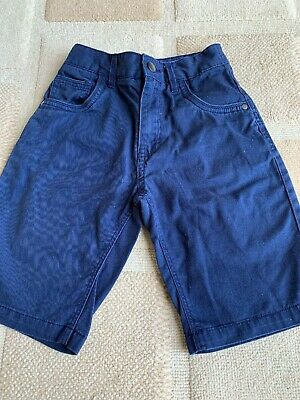 Boys Navy Blue Long Shorts Age 9-10 Years George