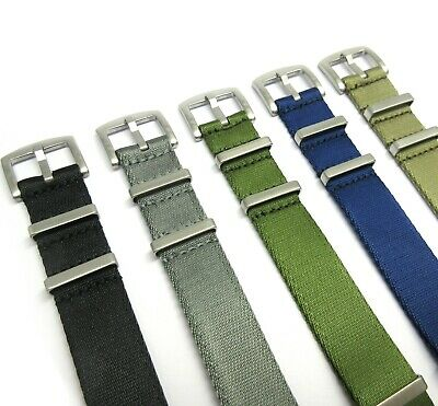 NEW premium quality NATO STRAP nylon fabric band for your military/ divers watch