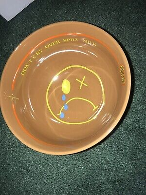 Travis Scott Reese's Puffs Cereal Bowl And Spoon Set In Hand Cactus Jack