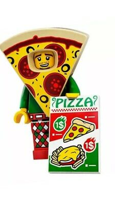 Lego Series 19 Pizza Guy Minifigure  (New - Unopened, Factory Sealed)