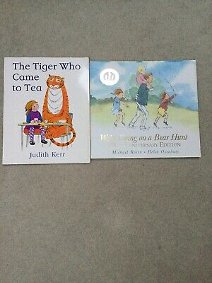 Were Going On A Bear Hunt 25th Anniversary Edition & The Tiger Who Came To Tea.