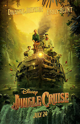 """Jungle Cruise ( 11"""" x 17"""")  Collector's Movie Poster Print - B2G1F"""