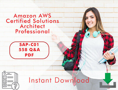 AWS Amazon Certified Solutions Architect Professional Exam 558 Q&A PDF NEW