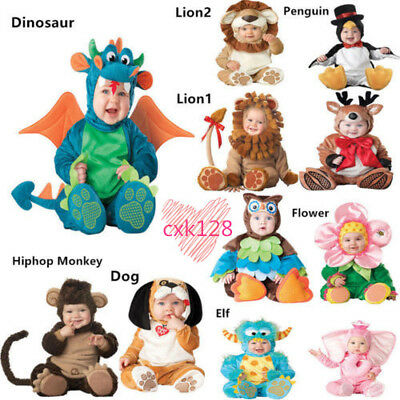 Jumpsuit Toddler Baby Dress Costume Infant Baby Plush Party Newborn Cosplay Gift