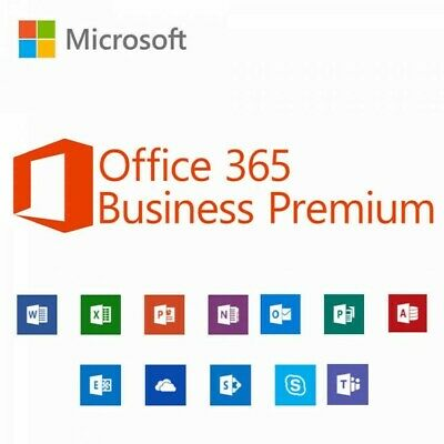Microsoft Office 365 Business Premium - (1 anno/1 utente) licenza via e-mail.