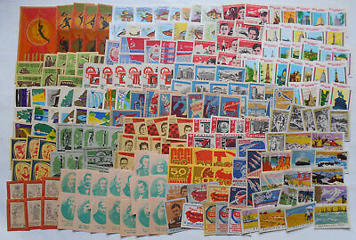 More Than 200 Soviet Matchbox Labels 4.