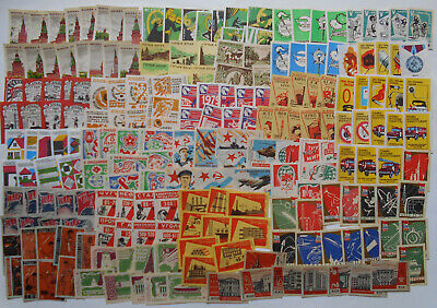 More Than 200 Soviet Matchbox Labels 6.
