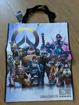 SDCC 2017 Blizzard Oversized Tote Bag Overwatch//Warcraft