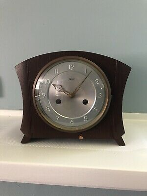 Vintage Smiths Enfield Chime Mantle Clock