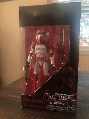Hasbro Star Wars The Black Series Six Inch Battlefront Imperial Shock Trooper