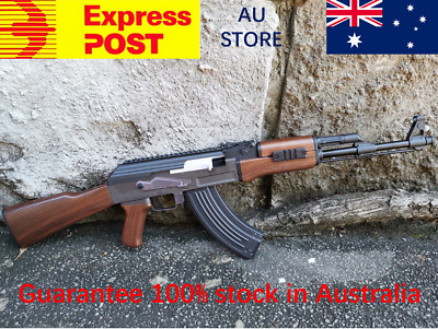 Rx Akm-47 Metal Gear & Barrel Upgraded Gel Blaster Gel Gun Series 100% Aus Stock