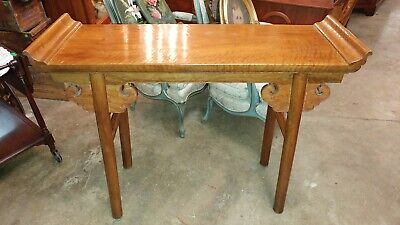 Beautiful Antique Chinese Alter Table - Long Side Table - Excellent