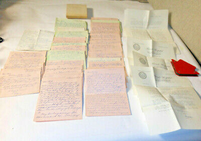 Old Soldier Early 50's Love Letters (Lot Of 50) Vintage 1954 Philadelphia, PA.