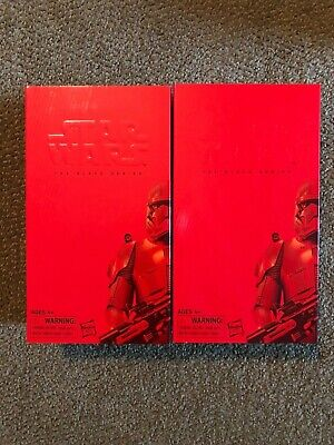 Hasbro Star Wars Black Series Sith Trooper SDCC 2019 Exclusive Set of 2 NEW