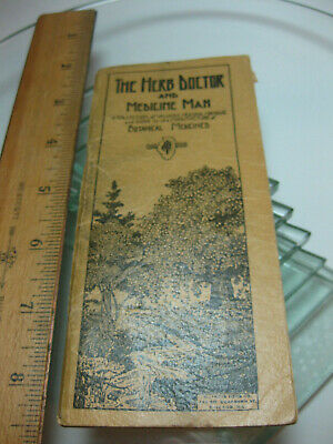 "1922 Indiana Herbs ""The Herb Doctor and Medicine Man"" Catalog Booklet - verygood"