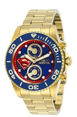Invicta DC COMICS SUPERMAN Men's Chronograph Limited Edition 43mm Watch 29064