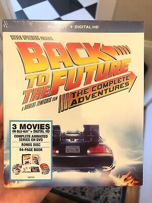 Back to the Future The Complete Adventures Blu-ray - No Digital - Disc Untouched