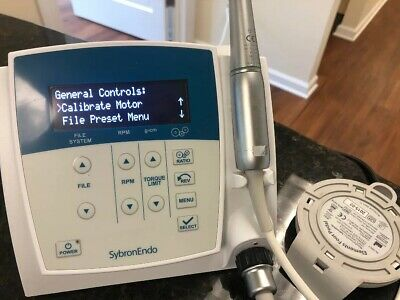 SybronEndo Elements Endodontic Motor with Handpiece- Pre-owned Sybron endo