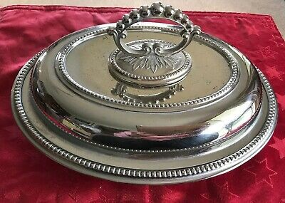 Vintage British Electro Company Silver Plated Covered Dish