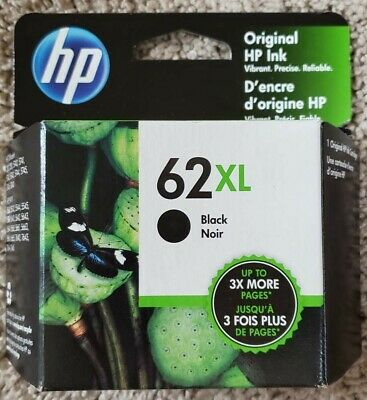 Factory Sealed NEW HP 62 XL Tri-Color Ink Cartridge - Exp 05/2021 -