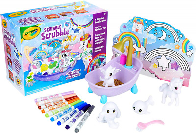 Crayola Scribble Scrubbie Peculiar Pets, Gift for Kids, Ages 3, 4, 5, 6 (Amazon