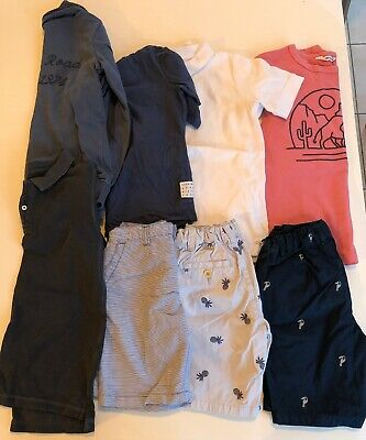 COUNTRY ROAD - Boys Blue, Pink and GreySummer Clothing - Size 7&8