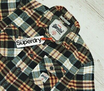 """Extra! Superdry """"The Milled Flannel"""" Shirt Size M - Medium"""