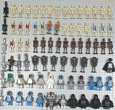 Genuine Lego Star Wars Droid / Boba fett Minifigures, great stocking fillers VGC