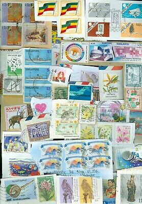 25 kilo STAMPS WORLDWIDE ON PAPER FROM CHARITY (64)