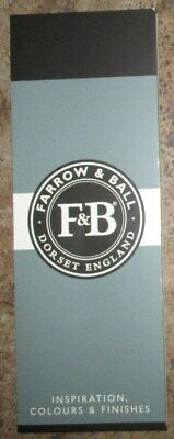 Brand New Unopened FARROW & BALL Inspiration, Colours & Finishes Paint Chart