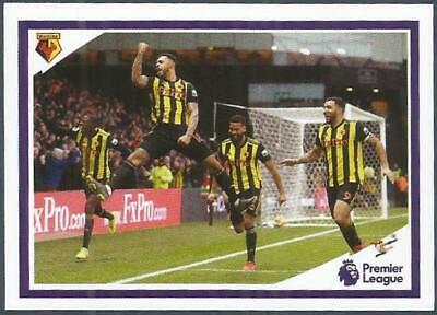Panini Tabloid Premier League 2019- #110-Watford In Action
