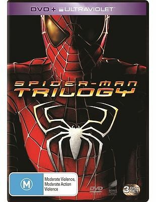 Spider-Man / Spider-Man 2 / Spider-Man 3 Trilogy : NEW DVD