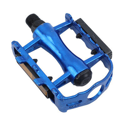 Road Mountain Bike Bicycle Pedals Aluminum Alloy MTB Flat Platform Bicycle Pedal