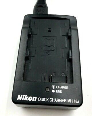 Nikon MH-18A Quick Charger with adapter