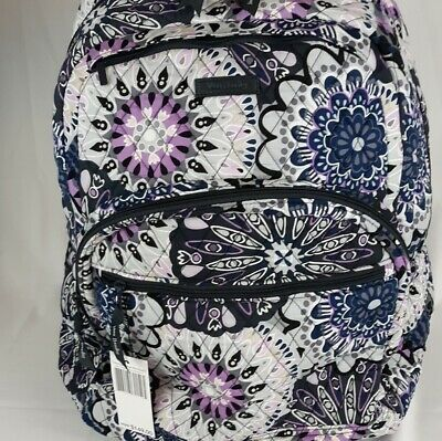 Vera Bradley Essential Large Backpack Mimosa Medallion New NWT MSRP $149