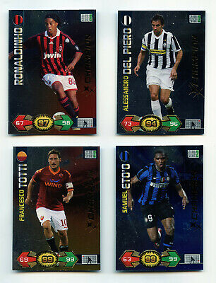 Rare Card Champion Calciatori Adrenalyn 2009/10 Da Scegliere