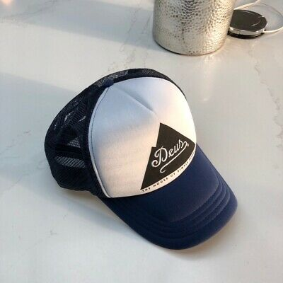 Mens Deus Baseball Cap, Navy
