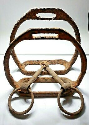 Beautiful medieval horse bridle 10-12