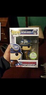 Funko pop Captain America 2017 Spring Convention Exclusive