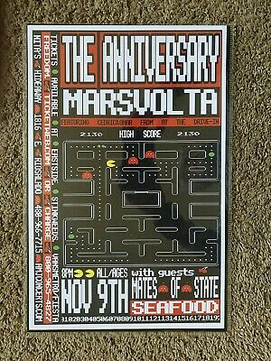 Anniversary Mars Volta Concert Poster Featuring Cedric & Omar From The Dive In