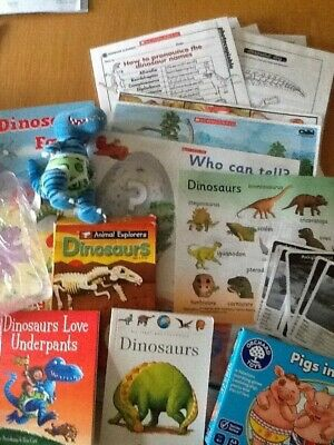 Dinosaurs love Underpants story sack teaching and childminding resource